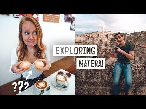 We Found Italy's MOST BEAUTIFUL City! - Cave Homes, Delicious Food & More! (Matera)
