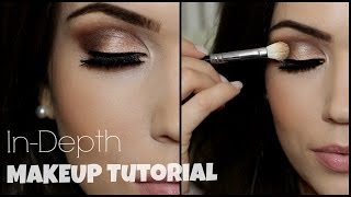 In-Depth Eye Makeup Tutorial | Irish Beauty Collab(I'm collaborating with some amazing Irish Youtubers #IrishBeautyCollab We are each focusing on one area of makeup. Mine is Eye Makeup but check out these ..., 2015-04-03T17:00:01.000Z)