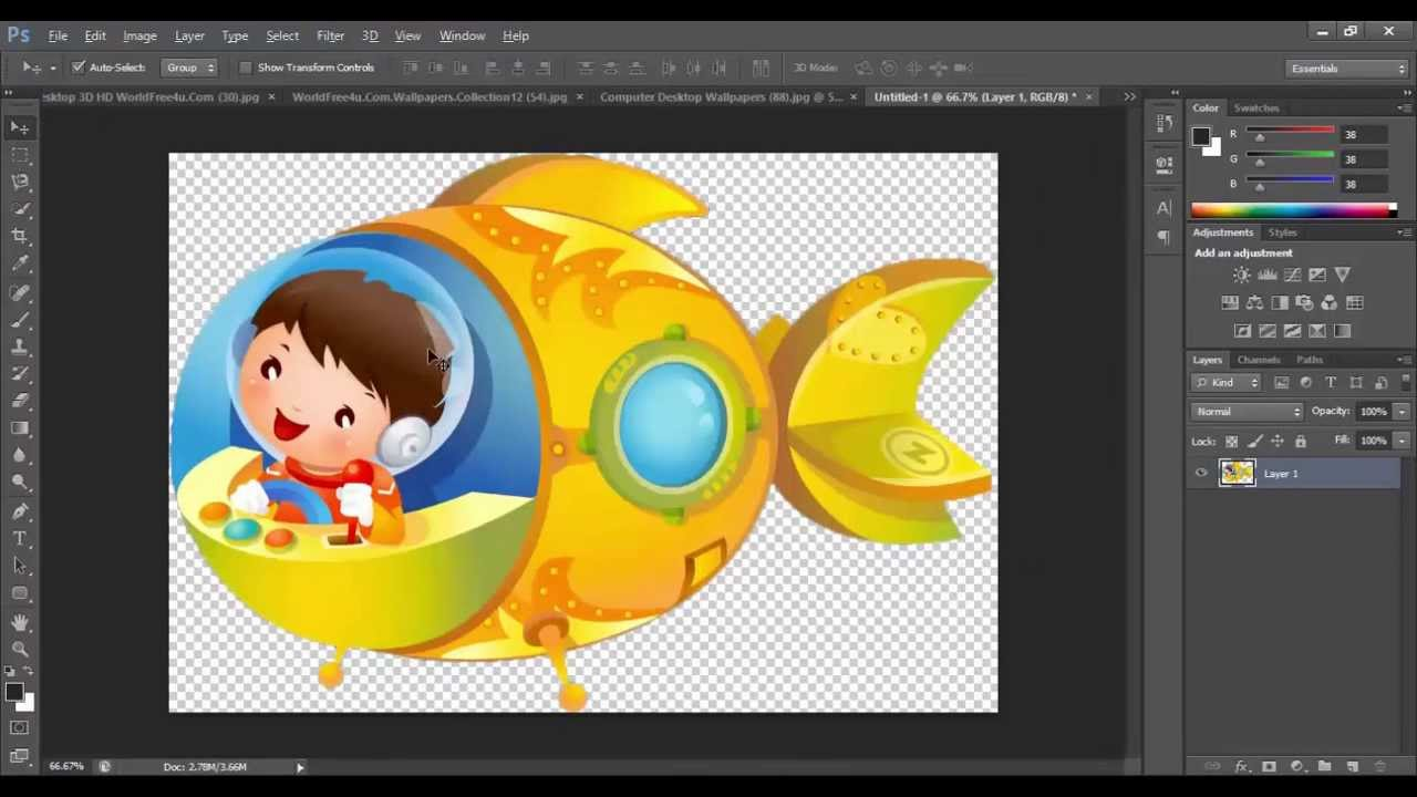 how to create clipart using photoshop - photo #1