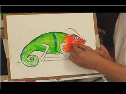 Oil Pastel Techniques : Oil Pastel Techniques for Kids