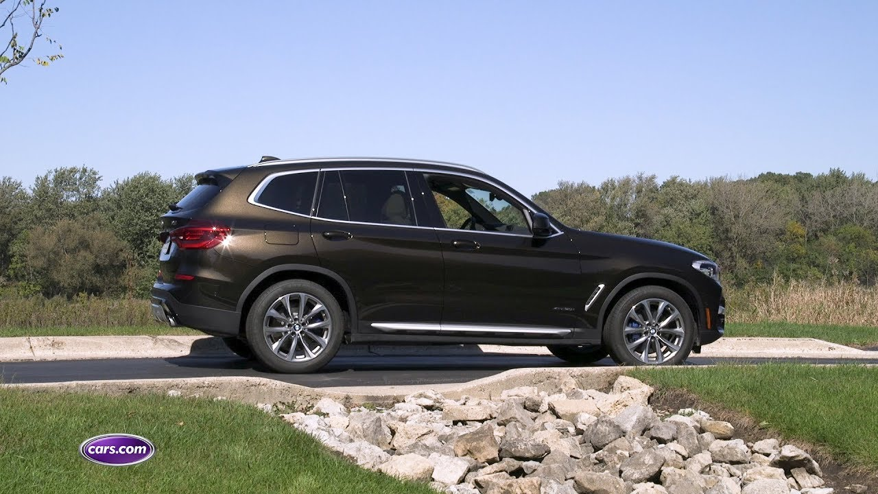 2018 BMW X3 Review: Is the X1 a Better Buy? — Cars.com - YouTube
