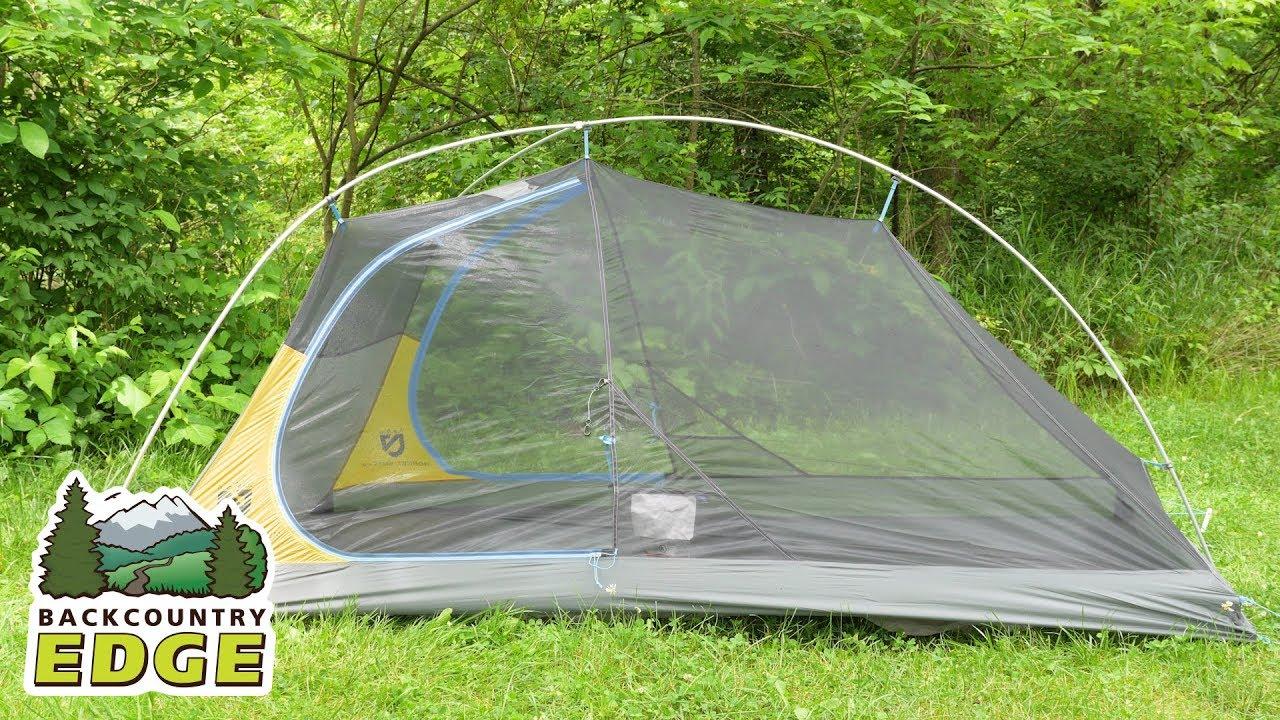NEMO Hornet Elite 2P Backpacking Tent & NEMO Hornet Elite 2P Backpacking Tent - YouTube