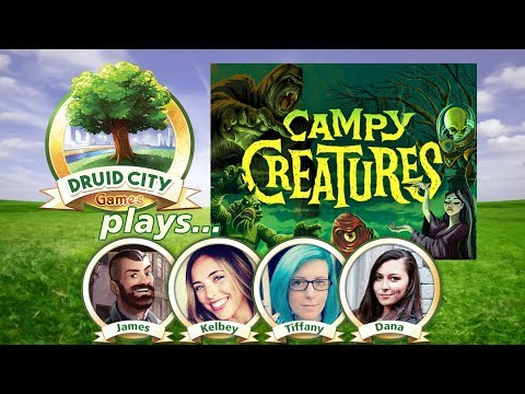 Campy Creatures - Board Game Spotlight - Live stream play through