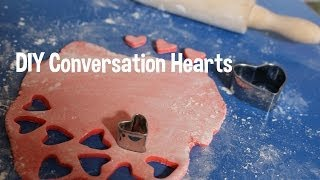 Fun Activity W/your Kids! Diy Conversation Hearts! Valentines Day