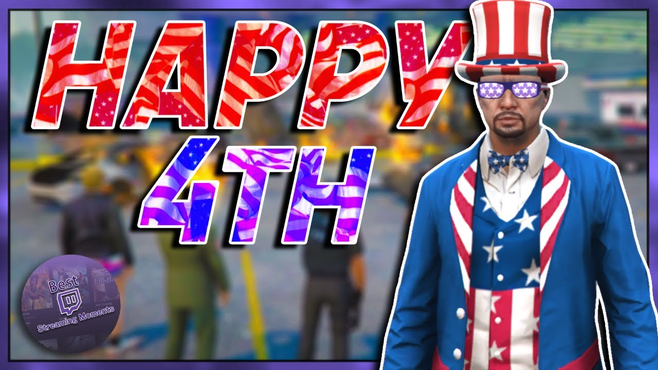 BEST OF GTA 5 RP #441 - FOURTH JULY CELEBRATIONS, COP PROMOTIONS | NoPixel Highlights