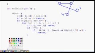 Hamiltonian Cycle Backtracking Algorithm | Code explained (part 2)
