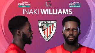 PES 2021 Inaki Williams Hair and Beard Update Athletic Bilbao PES 2020