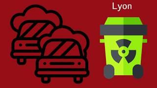 Top 5 des quartiers les plus pollués de Lyon