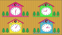 Deutsch lernen: die Uhr - German for children and beginners: the clock