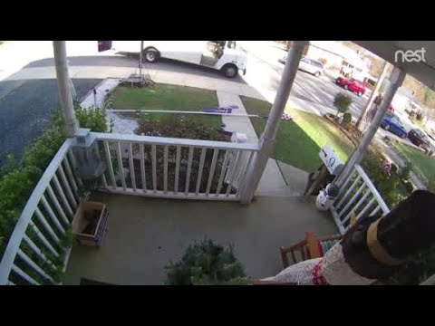Ashley - What This Delivery Man Does Is Beautiful & Caught On Camera!!