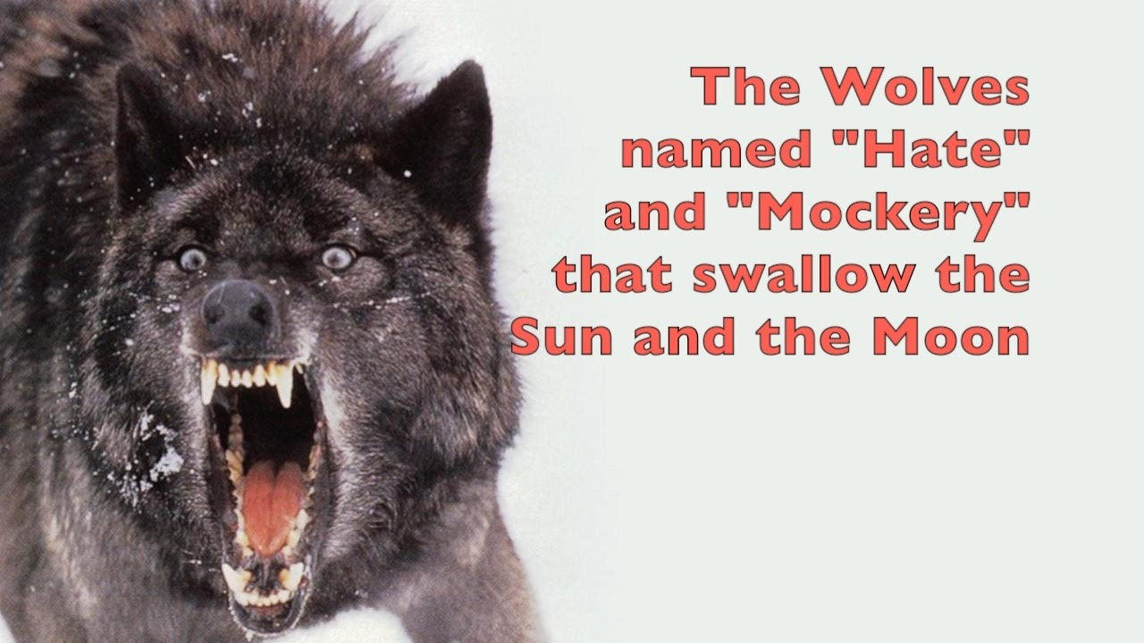 Skll and hati wolves of norse mythology that swallow the sun and skll and hati wolves of norse mythology that swallow the sun and the moon biocorpaavc
