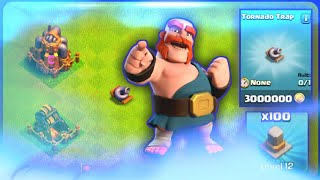 UPDATE! Clash of Clans   TORNADO TRAP!   NEW LEVELS TO?!   BEST UPDATE EVER?!  