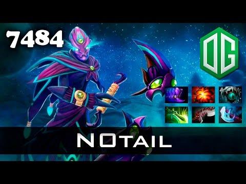 N0tail Spectre 28 kills - 7484 MMR OG Dota...