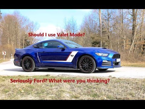 Should You Put Your Mustang In Valet Mode Watch This Before Let Someone Drive Car
