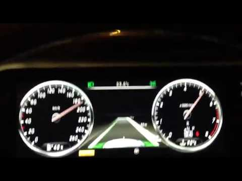 2014 Mercedes benz S class 0 to top speed - YouTube