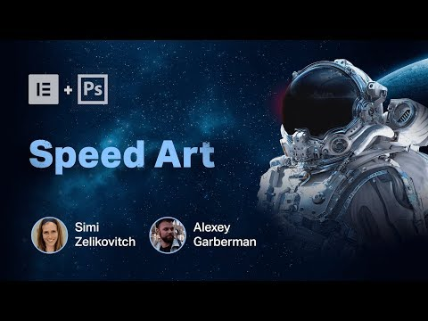 Web Design Speed Art - How We Built Our Landing Page Using Motion Effects