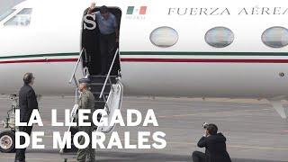 ASÍ ha llegado EVO MORALES a MÉXICO tras recibir ASILO POLÍTICO del Gobierno de AMLO