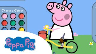 PEPPA PIG: Peppa Bicycle Coloring