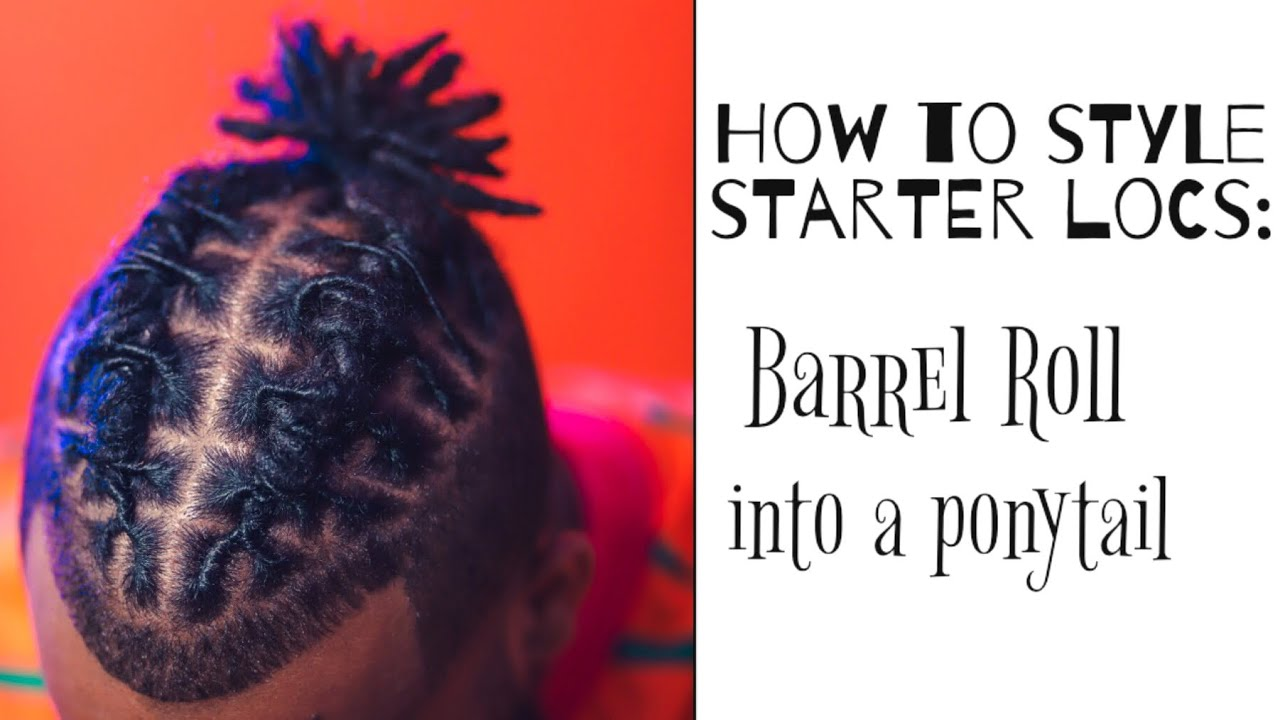 Download How to style short starter locs