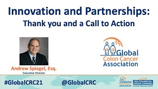Innovation and Partnerships: Thank You and a Call to Action