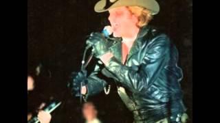 Johnny Hallyday Guerre LIVE A L'Hipodrome De Pantin 1981