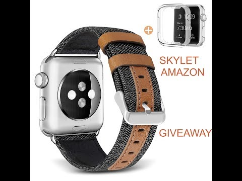 (EPISODE 2495) AMAZON PRIME UNBOXING: SKYLET Band Compatible with Apple Watch Giveaway @amazon