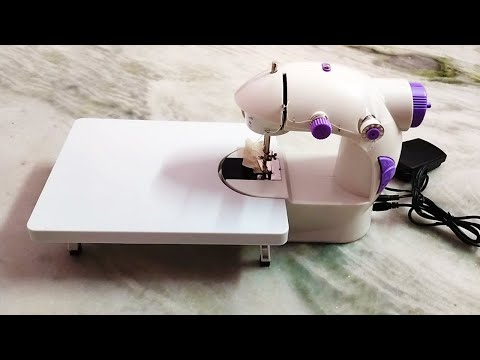 Mini Sewing Machine Unboxing   Best Sewing Machine for Home Use   Qualimate Portable Sewing Machine