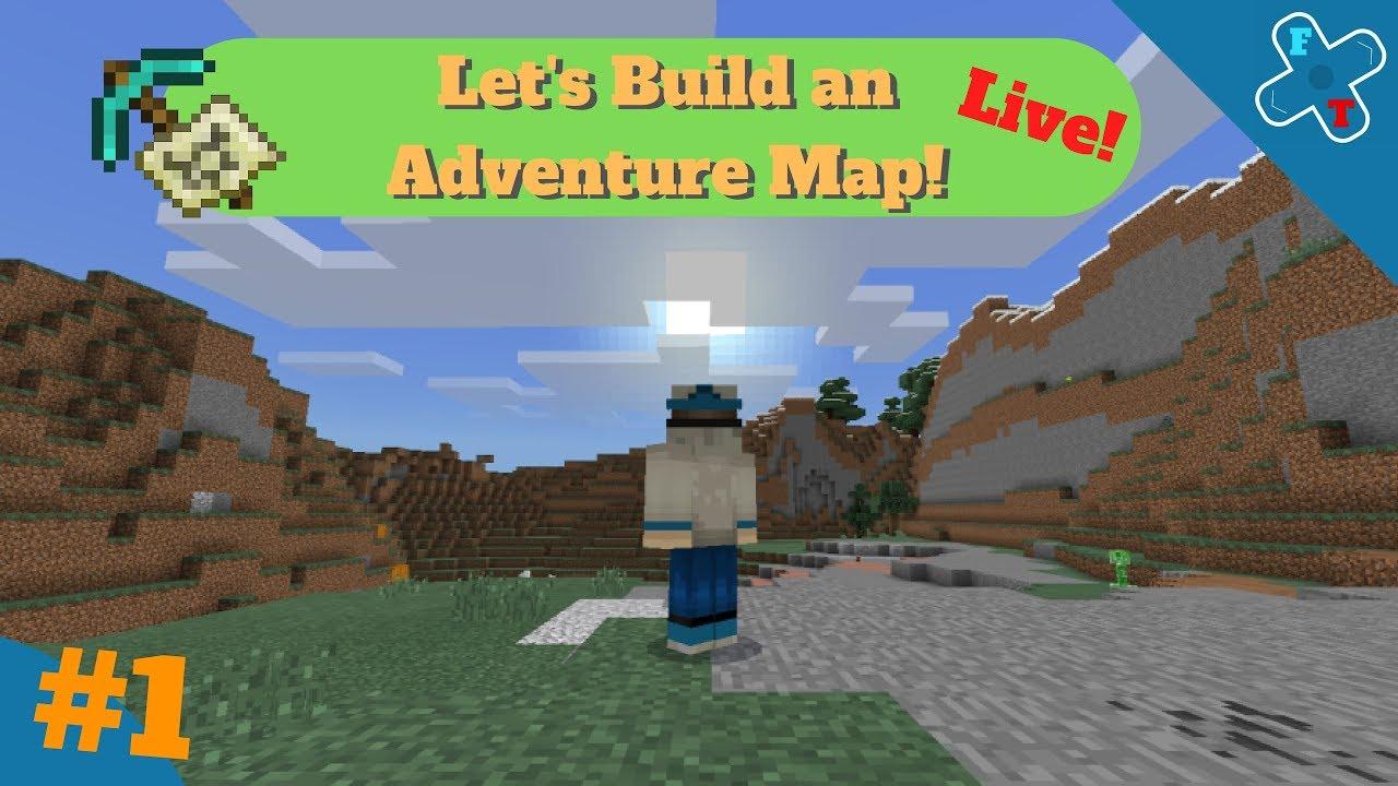 Lets Build An Adventure Map Minecraft Bedrock Season 1