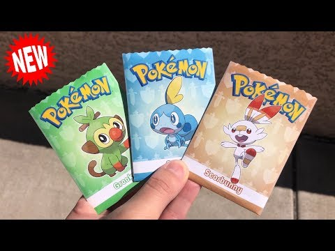 *THE RAREST PACKS!* Opening CRAZY GENERATION 8 Pokemon Card Packs of the GALAR STARTERS!