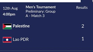 Download Video Asian Games 2018 : Men's Football Group A -  Palestine (2) vs (1) Lao PDR Highlights MP3 3GP MP4
