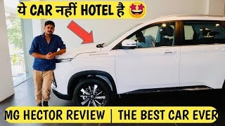 MG HECTOR REVIEW : Space | Interior | 360 Camera | Ambient Light | 9 Speakers | Infinity Subwoofer