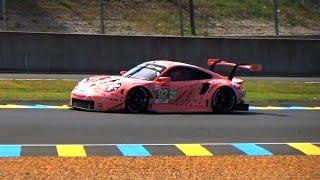 24 Hours of Le Mans 2018 Test Day Porsche 911 RSR Special ! Loud Sounds !