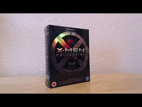 X-Men 8 Film Collection Blu Ray Boxset Unboxing