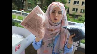 XL H&M Haul Sommer 2016 |#2 | Unboxing | Hijabflowers