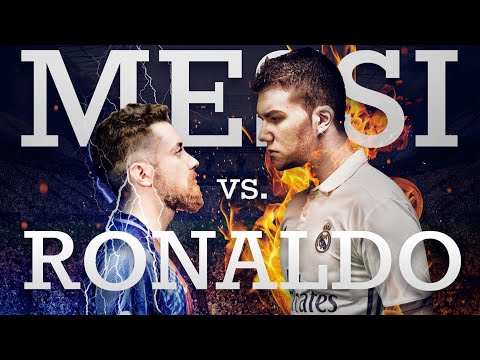 CRISTIANO RONALDO vs LEO MESSI - La Batalla de Rap