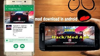 Asphalt 9 Legend highly mod for Android device new and latest version mod