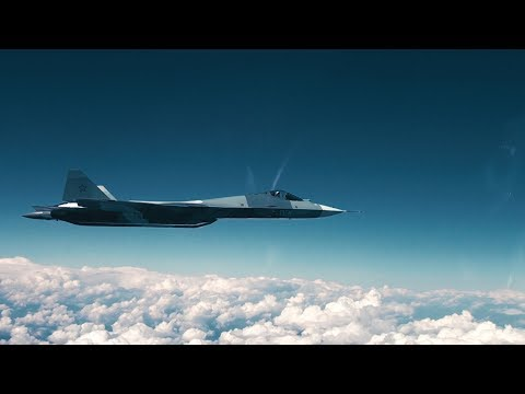 """""""Плоский штопор"""" Су-57"""