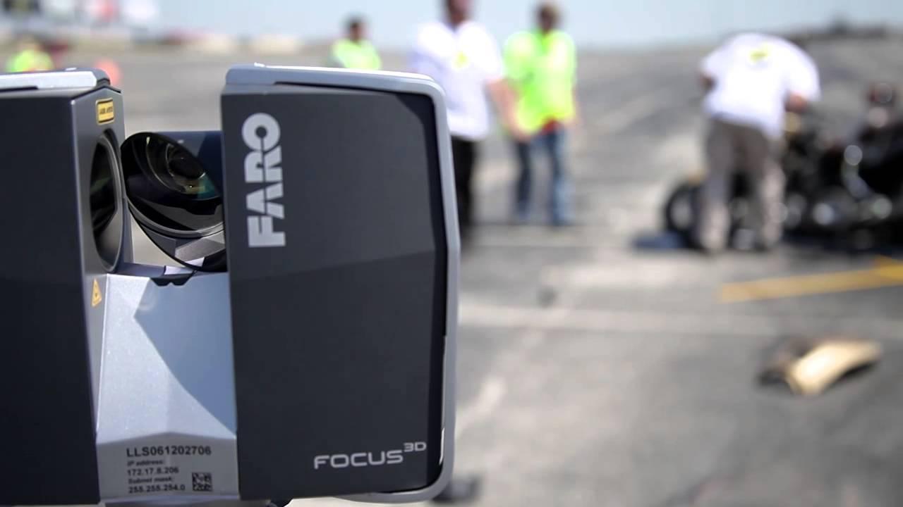 FARO Focus3D Accident Reconstruction - YouTube