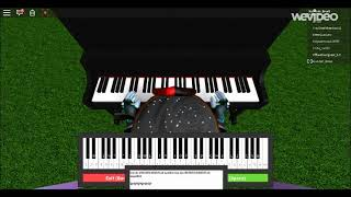 Come along with me by Adventure time(Roblox piano)