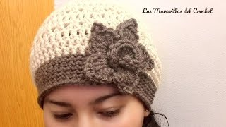 Video 👩Gorro paso a paso en crochet(ganchillo) para mujer download MP3, 3GP, MP4, WEBM, AVI, FLV Maret 2018
