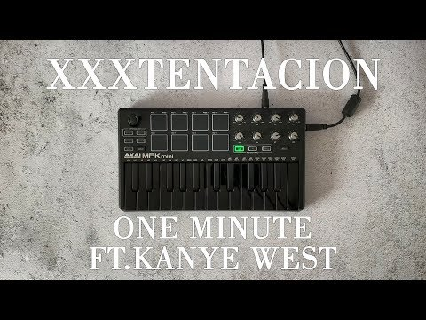 Xxxtentacion - One Minute Ft Kanye West Instrumental Cover Finger Drum|OVN