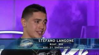 American Idol 10 - Stefano Langone - San Francisco Auditions