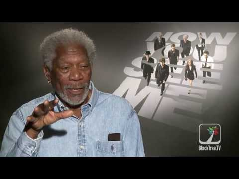 Morgan Freeman discusses career choices and robbing banks | Now You See Me