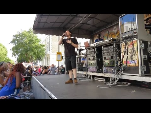 Sentinel Sound playing on Saxon at the Notting Hill Carnival 2016 (Sunday - FULL ROUND)