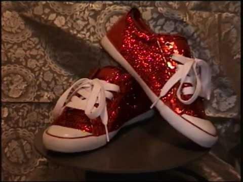 c91fa0ca7381 COACH Barrett Ruby Slippers - YouTube