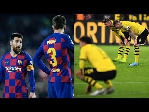 Why Barcelona AND Borussia Dortmund Are Struggling This Season   Champions League 2019/20