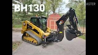Cat caterpillar BH130 backhoe attachment