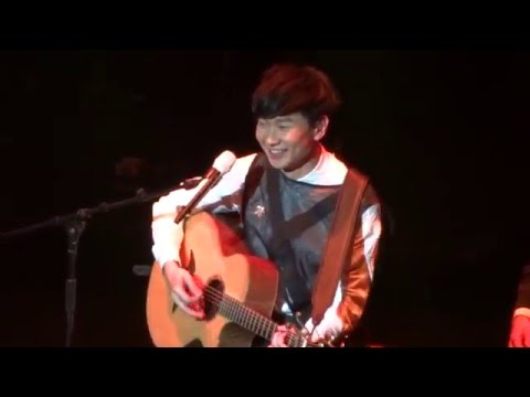 160221 JJ Lin - 小酒窩 Dimples @ Shrine Auditorium in LA- By Your Side