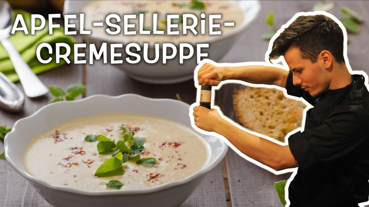 Sellerie-Apfel-Cremesuppe • Ernährungswissenschaftlich optimiert