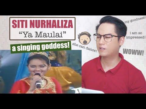 Siti Nurhaliza - Ya Maulai (Live In Juara Lagu 2001) HD | REACTION